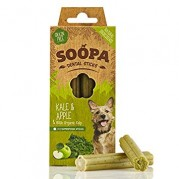 Soopa Kale & Apple Dental Sticks Dog Treats 100g