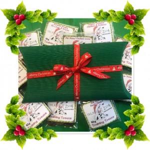 Christmas Pillow Box of treats