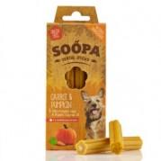 Soopa Pumpkin & Carrot Dental Sticks Dog Treats 100g