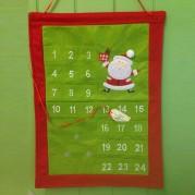 Green & Red square advent calendar