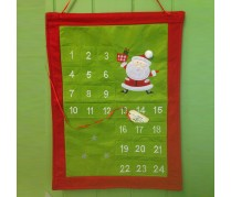 Green & Red square advent calendar