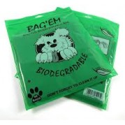 Bag'ems biodegradable poop bags