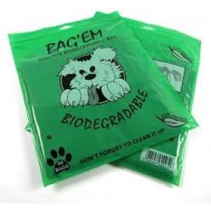 Bag'ems biodegradable poop bags