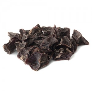 Air dried beef heart