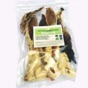 Rabbit ears with hair 100 grams